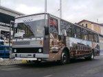 Autobus Karosa B732 parkuje na začiatočnej zastávke